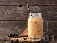 Смути с кафе, стафиди, лешници и банан